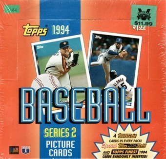 1994 Topps Series 2 Baseball Jumbo Box