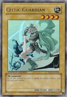 Yu-Gi-Oh Promo Single Celtic Guardian Ultra Rare (YAP1-EN004)