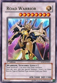 Yu-Gi-Oh 5D's Starter Deck Road Warrior Ultra Rare (5DS2-EN041)