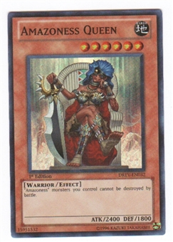 Yu-Gi-Oh Duelist Revolution Single Amazoness Queen Super Rare (DREV-EN032)