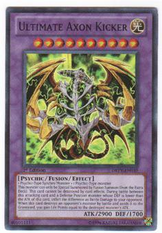 Yu-Gi-Oh Duelist Revolution Single Ultimate Axon Kicker Super Rare