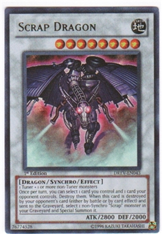 Yu-Gi-Oh Duelist Revolution Single Scrap Dragon Ultimate Rare