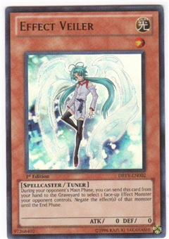 Yu-Gi-Oh Duelist Revolution Single Effect Veiler Ultra Rare
