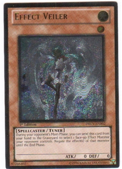 Yu-Gi-Oh Duelist Revolution 1st Edition Single Effect Veiler Ultimate Rare (DREV-EN002)