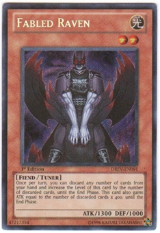 Yu-Gi-Oh Duelist Revolution Single Fabled Raven Secret Rare (DREV-EN091)