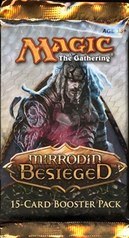 Magic the Gathering Mirrodin Besieged Booster Pack - INKMOTH NEXUS, BLIGHTSTEEL COLOSSUS !!!
