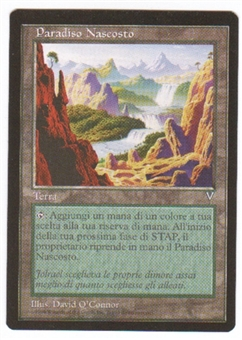 Magic the Gathering Visions Single Undiscovered Paradise (Italian) - NEAR MINT (NM)