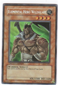 Yu-Gi-Oh Promo Single Elemental Hero Wildheart Ultra Rare (GSE-EN001)