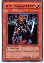Yu-Gi-Oh Hobby League 6 Single D.D. Warior Lady Parrel Foil