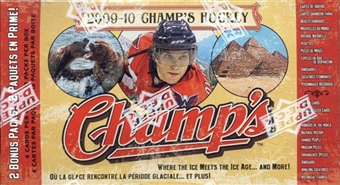2009/10 Upper Deck NHL Champs Hockey 12-Pack Box