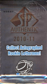 2010/11 Upper Deck SP Authentic Basketball Hobby Pack