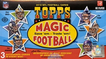 2010 Topps Magic Football Hobby Box
