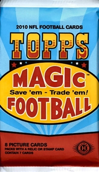 2010 Topps Magic Football Hobby Pack