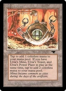 Magic the Gathering Antiquities Single Urza's Mine (sphere) - SLIGHT PLAY (SP)