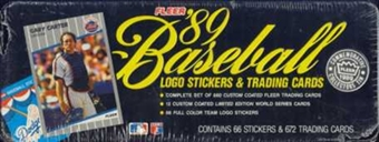 1989 Fleer Glossy Baseball Factory Set
