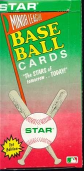 1989 Star Minor League Series 2 Baseball Wax Box
