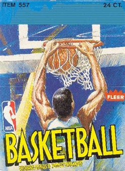 1989/90 Fleer Basketball Rack Box