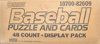 1989 Donruss Baseball Blister Case