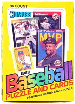 1989 Donruss Canadian Baseball Wax Box