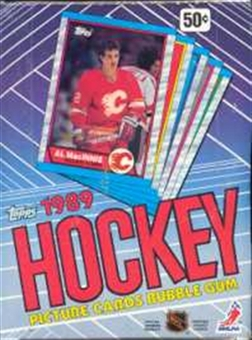 1989/90 Topps Hockey Wax Box