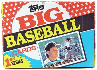 1989 Topps Big Baseball Series 1 Box