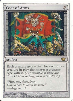 Magic the Gathering 8th Edition Single Coat of Arms - NEAR MINT (NM)