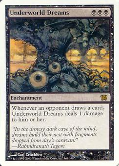 Magic the Gathering 8th Edition Single Underworld Dreams - NEAR MINT (NM)