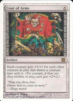 Magic the Gathering 8th Edition Single Coat of Arms - SLIGHT PLAY (SP)