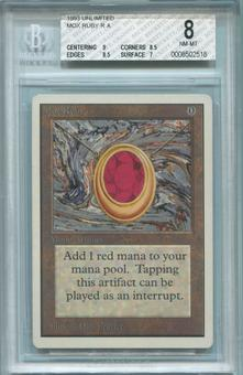 Magic the Gathering Unlimited Single Mox Ruby BGS 8 - *0008502518*