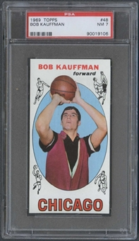 1969/70 Topps Basketball #48 Bob Kaufman PSA 7 (NM) *9106