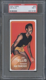 1970/71 Topps Basketball #28 Joe Ellis PSA 7 (NM) *9198