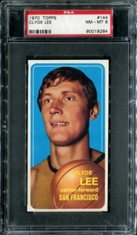 1970/71 Topps Basketball #144 Clyde Lee PSA 8 (NM-MT) *9264
