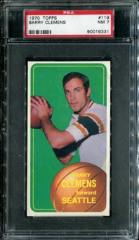 1970/71 Topps Basketball #119 Barry Clemens PSA 7 (NM) *9331