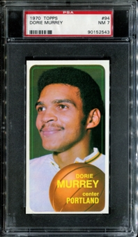 1970/71 Topps Basketball #94 Dorie Murrey PSA 7 (NM) *2543