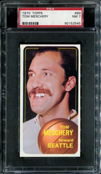 1970/71 Topps Basketball #99 Tom Meschery PSA 7 (NM) *2545