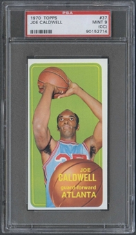 1970/71 Topps Basketball #37 Joe Caldwell PSA 9 (MINT) (OC) *2714
