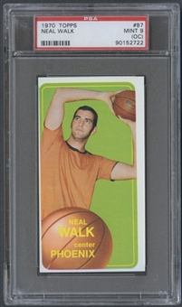 1970/71 Topps Basketball #87 Neal Walk PSA 9 (MINT) (OC) *2722