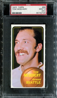 1970/71 Topps Basketball #99 Tom Meschery PSA 9 (MINT) (OC) *2724