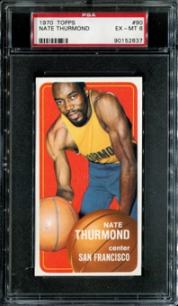 1970/71 Topps Basketball #90 Nate Thurmond PSA 6 (EX-MT) *2837