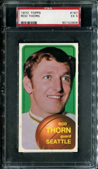 1970/71 Topps Basketball #167 Rod Thorn PSA 5 (EX) *2906
