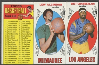 1969/70 Topps Basketball Complete Set (EX-MT+)