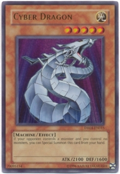 Yu-Gi-Oh Dark Revelation 4 Single Cyber Dragon Ultra Rare DR04-EN015