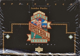 1993 Upper Deck Series 1 Baseball Jumbo Box