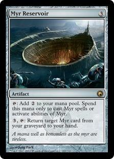 Magic the Gathering Scars of Mirrodin Single Myr Reservoir - NEAR MINT (NM)