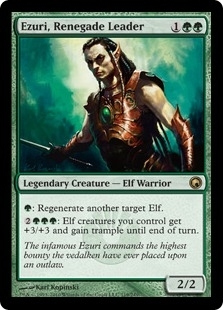 Magic the Gathering Scars of Mirrodin Single Ezuri, Renegade Leader Foil