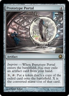 Magic the Gathering Scars of Mirrodin Single Prototype Portal - NEAR MINT (NM)