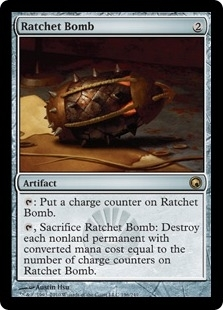 Magic the Gathering Scars of Mirrodin Single Ratchet Bomb - NEAR MINT (NM)