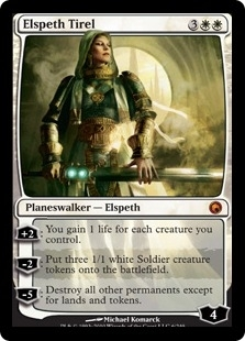 Magic the Gathering Scars of Mirrodin Single Elspeth Tirel UNPLAYED (NM/MT)