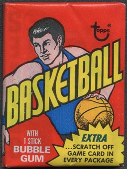 1974/75 Topps Basketball Wax Pack