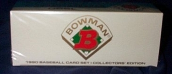 1990 Bowman Tiffany Baseball Factory Set